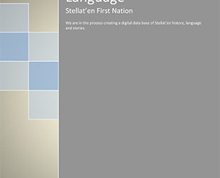 Stellat'en First Nation Language Project